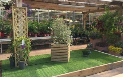 Aménagements paysagers à la jardinerie de Luçon